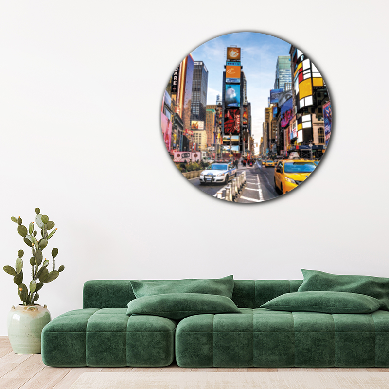 ToF New York City Times Square rond