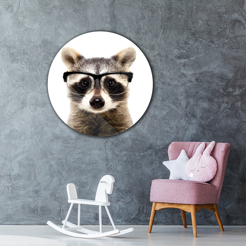 ToF Funny Raccoon rond