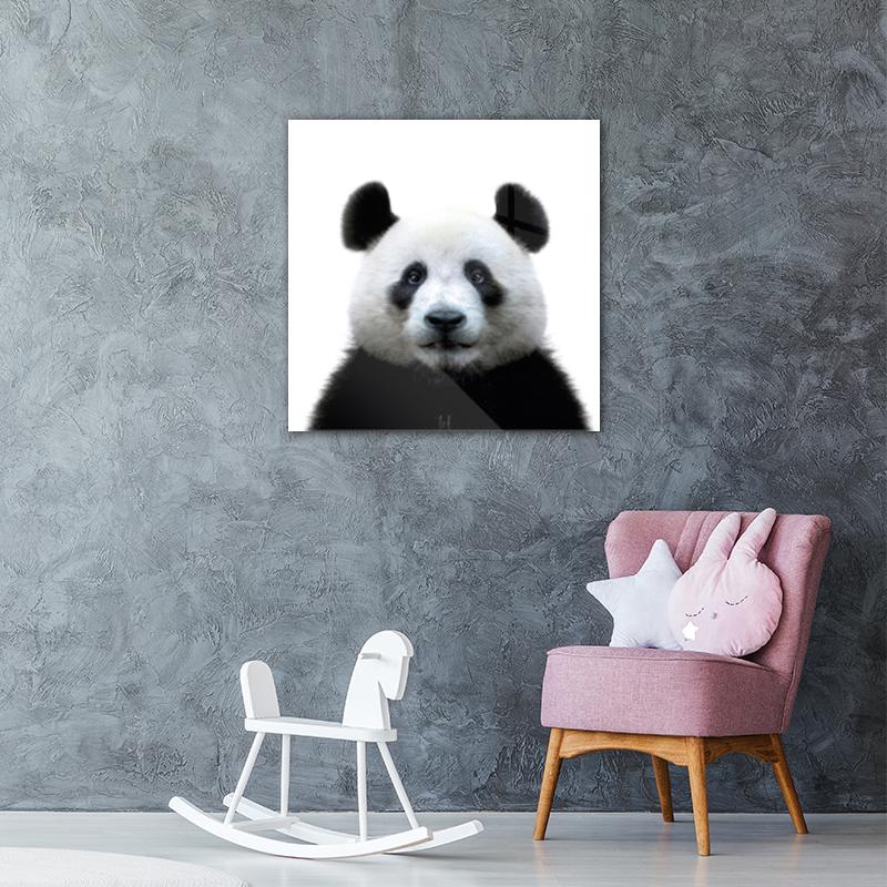 KToF Lovely panda vierkant