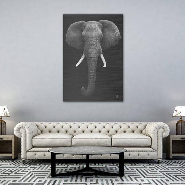 ToF Elephant staand