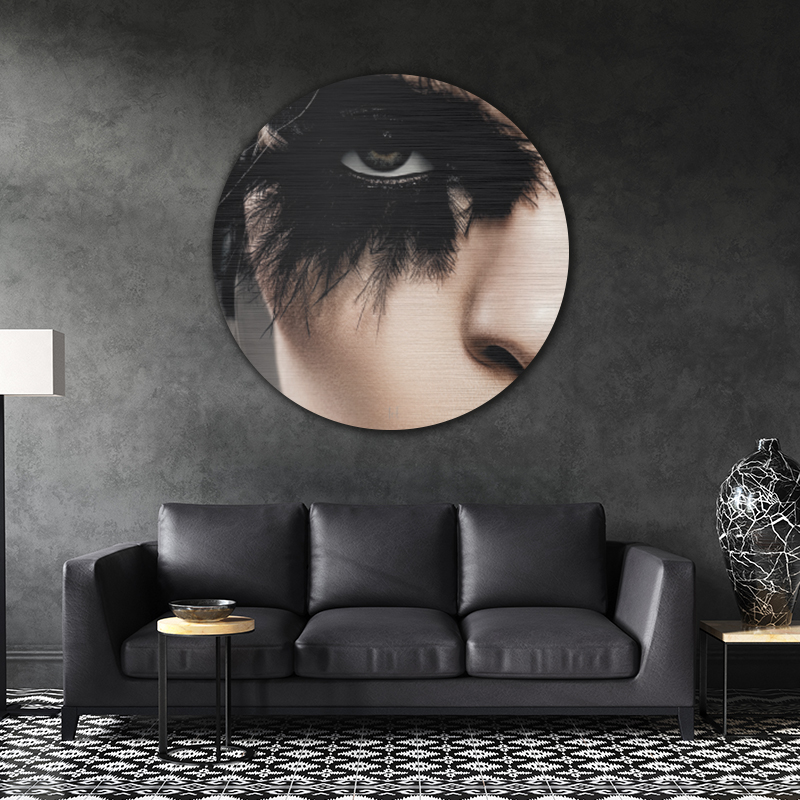 ToF Black feathers rond