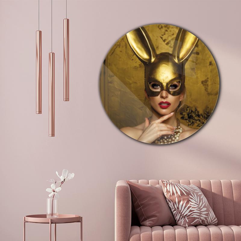 ToF Golden bunny rond