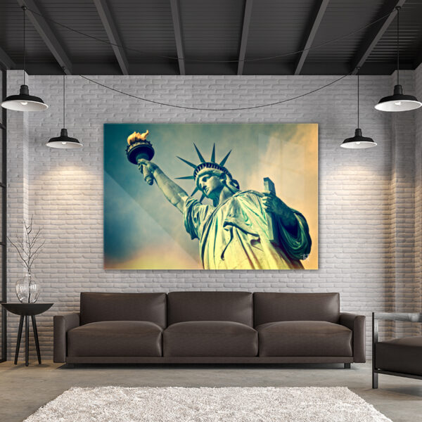 ToF Statue of Liberty New York liggend