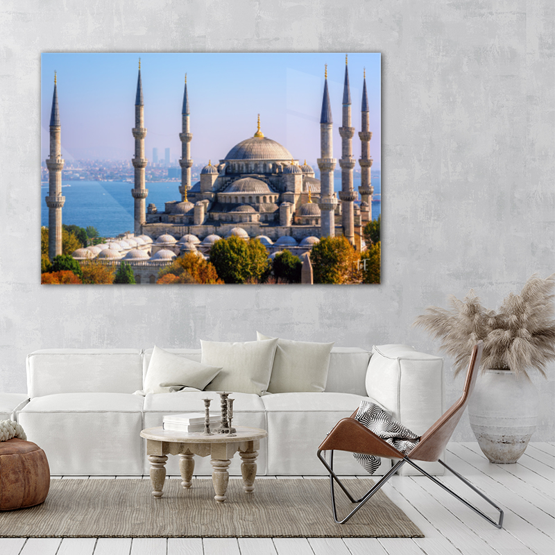 ToF Blue Mosque Istanbul, Turkey liggend